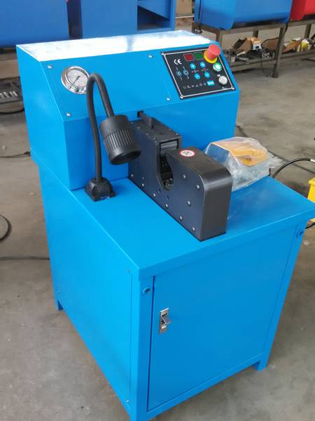 BHCM-145 type brake hose crimping machine